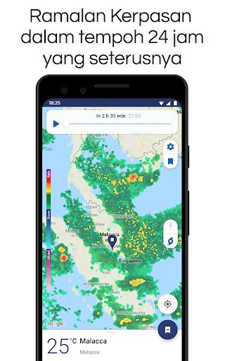 Clime: Radar Cuaca dan Ramalan screenshot 5