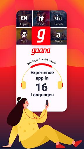 Gaana Music Hindi Song Free Tamil Telugu MP3 App screenshot 6