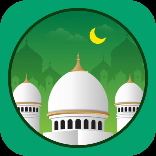 Muslim Prayer Times, Azan, Quran&Qibla By Vmuslim icon