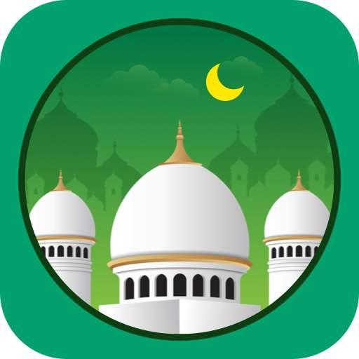 Muslim Prayer Times, Azan, Quran&Qibla By Vmuslim