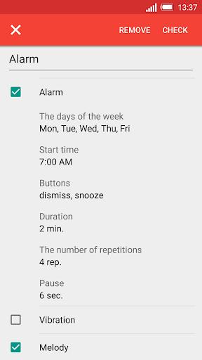 Konuşan Saat ve Alarm DVBeep screenshot 2