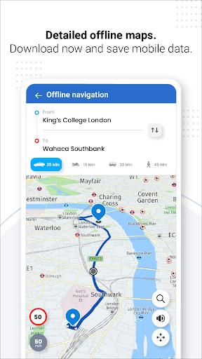 Navegação GPS ao vivo, mapas, direções e explorar screenshot 11