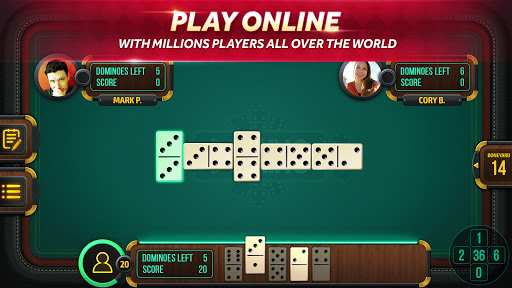Domino - Dominos online game. Play free Dominoes! screenshot 1