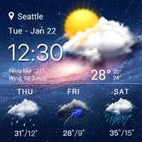 မိုးလေဝသခန့်မှန်းချက်များနှင့်ရေဒါ on 9Apps