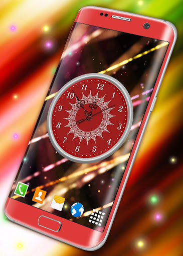 HD Clock Wallpaper ❤️ Beautiful Live Analog Clock screenshot 8
