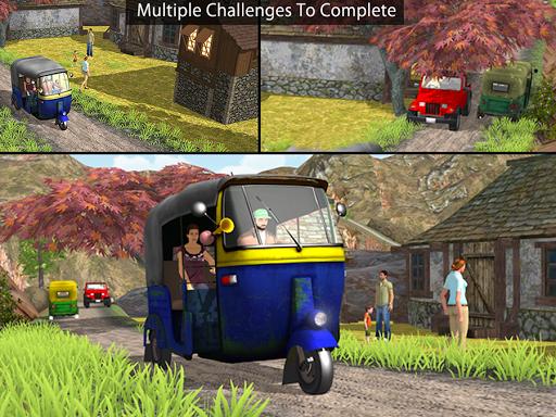Tuk Tuk Auto Rickshaw Offroad Driving Games 2020 screenshot 15