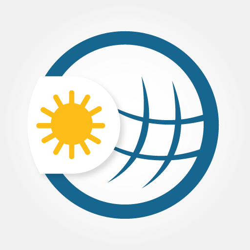 Weather & Radar - Storm radar icon