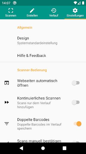QR & Barcode Scanner (Deutsch) screenshot 8