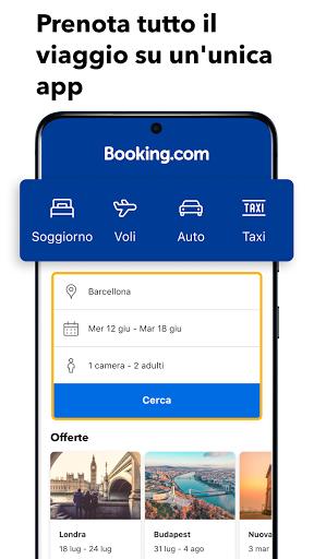 Booking.com prenotazioni hotel screenshot 1