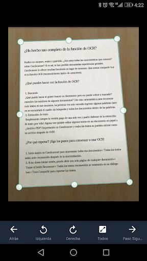 CamScanner Escáner PDF, Escáner de documentos screenshot 7