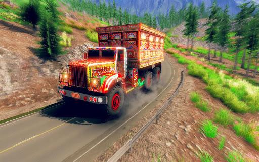 Asian Truck Sim 2020: juegos de conducción screenshot 9