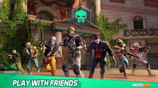 MaskGun - Online multiplayer FPS shooting gun game screenshot 4