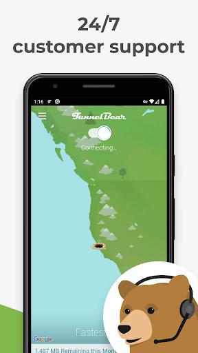 TunnelBear VPN screenshot 5