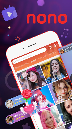 Nonolive - Live Streaming & Video Chat स्क्रीनशॉट 1