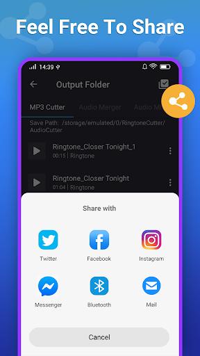 Ringtone Maker MP3 Editor screenshot 8