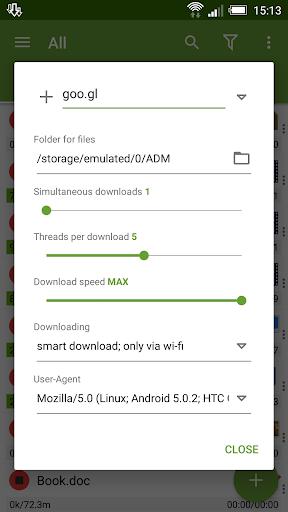 Advanced Download Manager & Torrent downloader screenshot 7