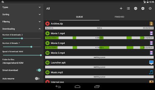 Advanced Download Manager & Torrent downloader screenshot 9