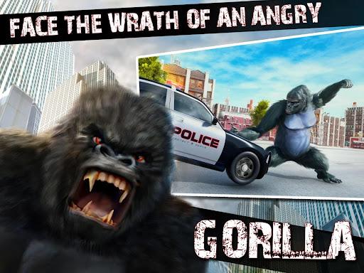 Monster Gorilla Attack-Godzilla Vs King Kong Games screenshot 13