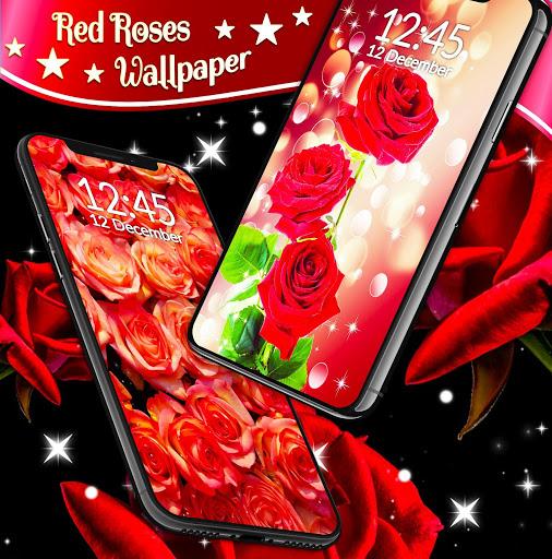 Red Rose Live Wallpaper 🌹 Flowers 4K Wallpapers screenshot 3