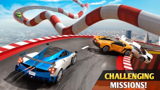 Mega Ramp Car Racing Stunts 3D - Impossible Tracks screenshot 3
