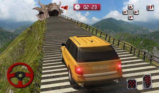 Ejderha Yol Sürme Simülatör: hız araba kaza Ölçek screenshot 10