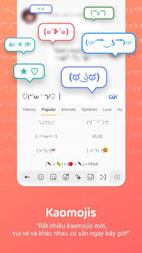 Bàn phím Facemoji: Bàn phím screenshot 6