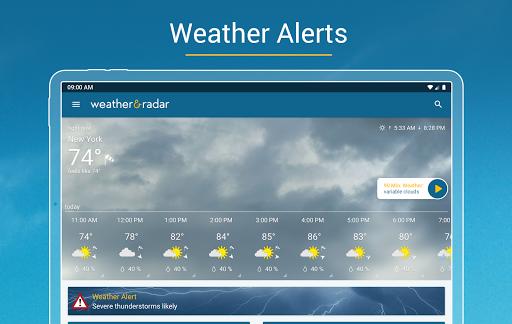 Weather & Radar - Storm radar screenshot 11