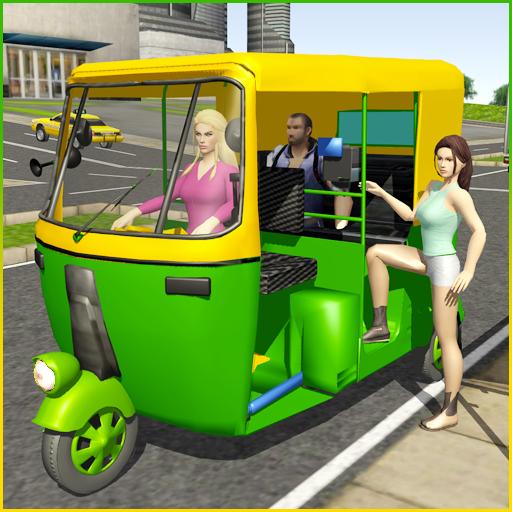 Tuk Tuk Rickshaw City Driving Simulator 2020 icon