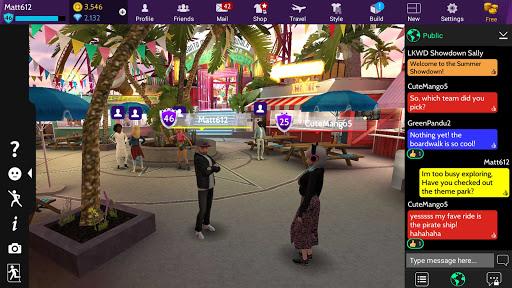 Avakin Life - 3D Virtual World स्क्रीनशॉट 7