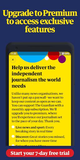 The Guardian - World news, Sport and Finance screenshot 6