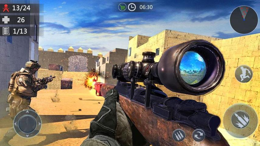 FPS Critical Strike War Attack screenshot 5