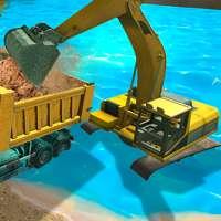 Simulator Penggali Pasir Sungai 3D on 9Apps