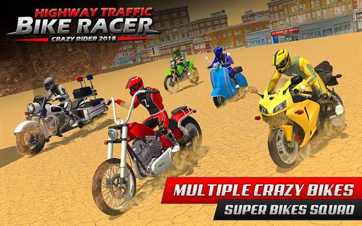 Highway Rider Bike Racing: Crazy Bike Traffic Race screenshot 5