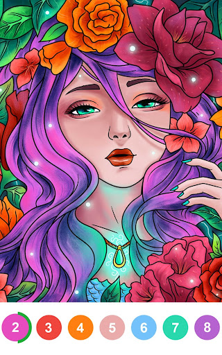 Paint By Number - Coloring Book & Color by Number screenshot 18