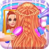 école fille cheveux s'habiller salon on 9Apps