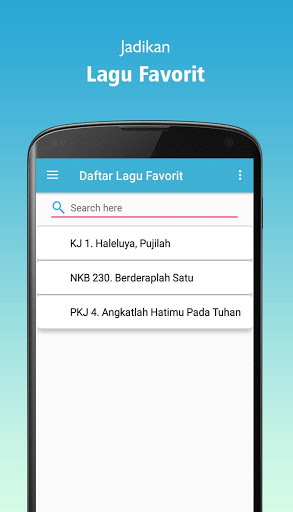 Kidung Pujian (KJ, PKJ, NKB) screenshot 8