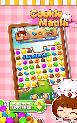 Cookie Mania - Match-3 Sweet Game screenshot 6