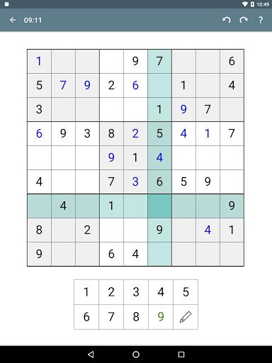 Sudoku screenshot 21