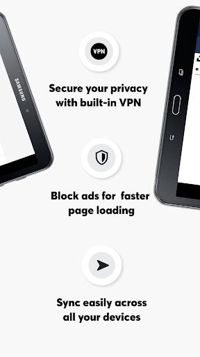 เบราว์เซอร์ Opera ที่มี VPN ฟรี screenshot 15