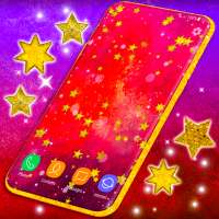 Gold Stars Live Wallpaper ⭐ Sparkling Wallpapers on 9Apps