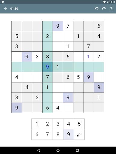 Sudoku screenshot 18