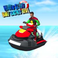 Water Slide Boat Racing Real on 9Apps