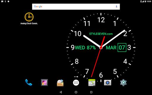 Analog Clock Live Wallpaper-7 screenshot 11