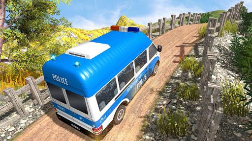US Police Car Chase Driver:Free Simulation games screenshot 3