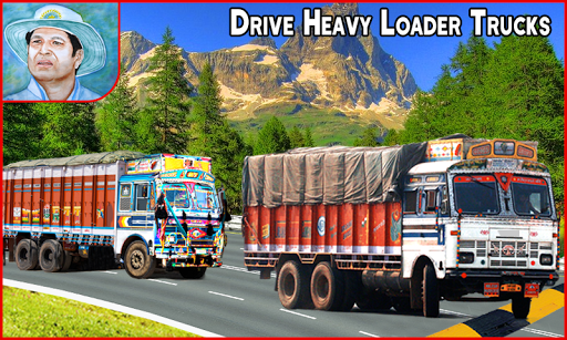 New Offroad Cargo Truck Driving Simulator Game 3D screenshot 1