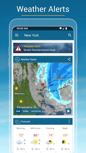 Weather & Radar - Storm radar screenshot 5