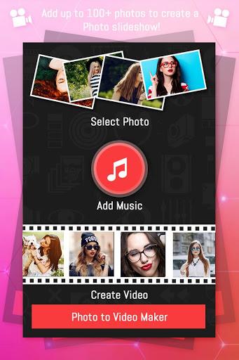 Photo Video Maker with Music: Movie Maker screenshot 1