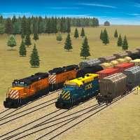 Train and rail yard simulator on 9Apps