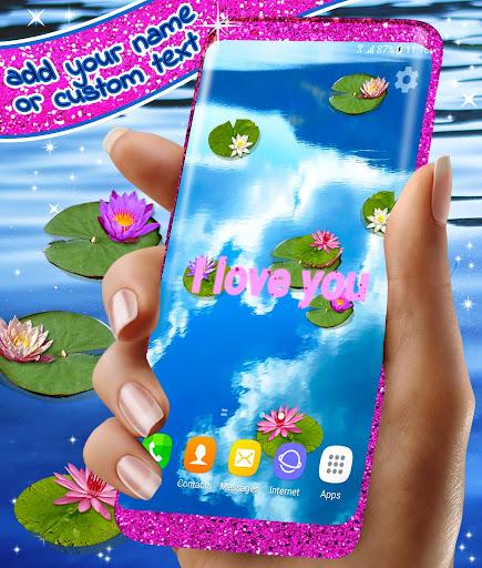 Water Lily Live Wallpaper 🌺 Flowers Wallpapers 3 تصوير الشاشة