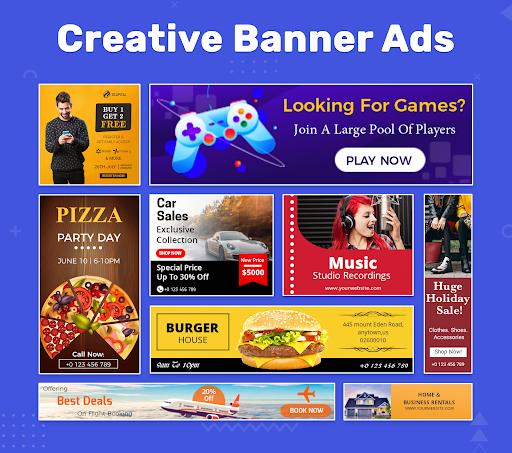 Banner Maker, Thumbnail Maker, Channel Art Maker screenshot 1